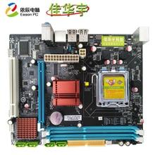 цена на Jiahuayu P45 desktop computer motherboard 771/775 dual-use board DDR3 USB2.0 SATAII