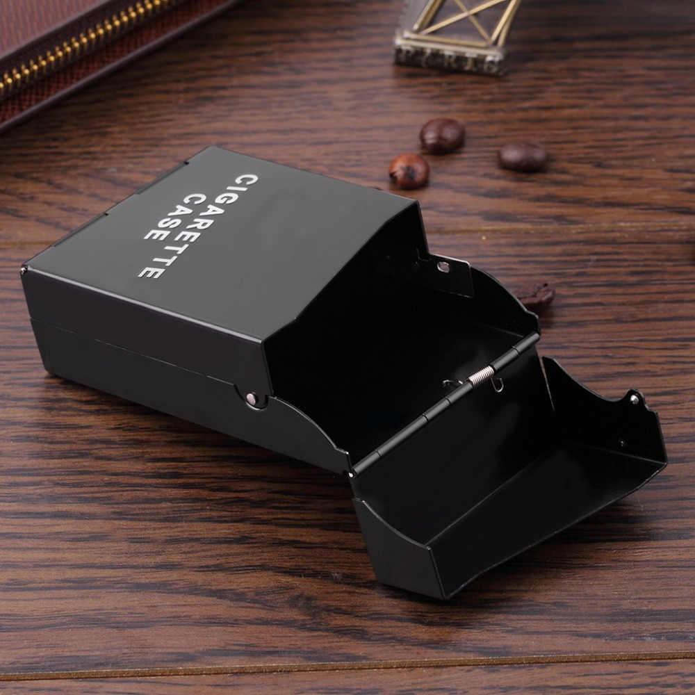 OUTAD Sigaret Doos Lady Vrouwen Slim Aluminium Cigaret Case Slim Metalen Sigarettenkoker Tabak Houder Geschenkdoos Roken Accessoires