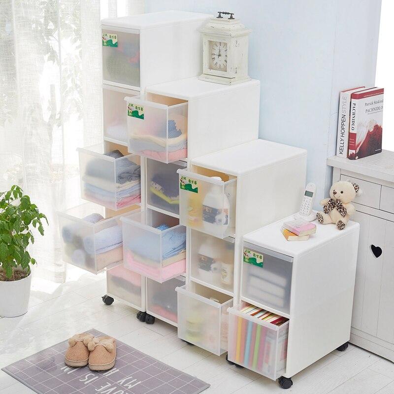 26 CM armoire de rangement tiroir Type armoire de rangement en plastique fissure finition casier Snack tiroir armoire étroite en plastique