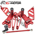 Motorcycle Rear Set Rearset Foot Pegs Bracket For Honda CBR900RR CBR929RR 2000-2001