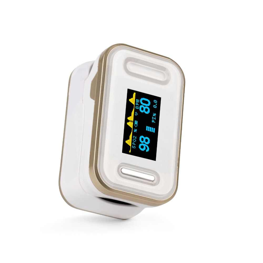 Yongrow Medical Digital Fingertip Pulse Oximeter Blood Oxygen Saturation PR  Monitor SpO2 high Accurate Family Health Care