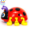 Cartoon Electric Ladybug Bee Baby Learning To Crawl Educational Toys With Music Light Infant Beetle Baby Toy Educational Toys