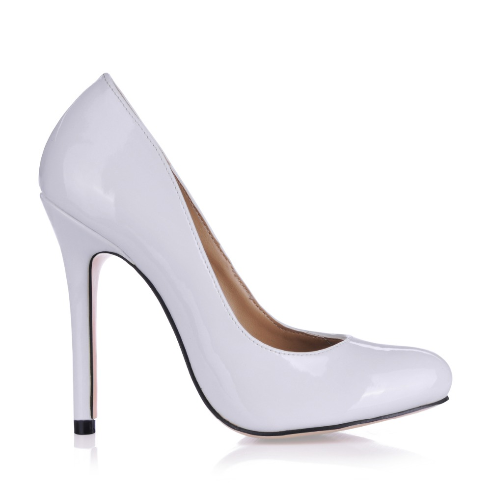 ФОТО women shoes sexy high heels woman wedding valentine ladies shoes party pumps zapatos mujer tacon sapato feminino plus size 43