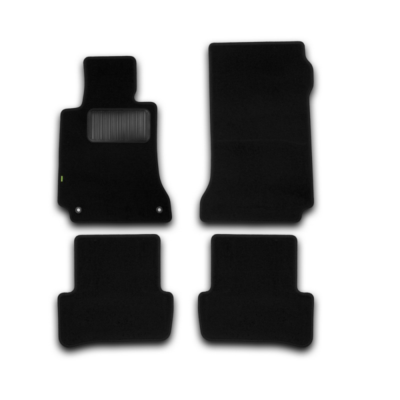 Mats in salon Klever Standard For MERCEDES-BENZ C-Class W204 AUTOMATIC TRANSMISSION 2007-2014, сед... 4 PCs (textile) mats in salon klever premium for cadillac cts automatic transmission 4wd 2007 2014 сед 4 pcs textile