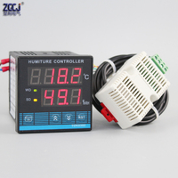 Free shipping !!! Digital greenhouses temperature and humidity controller Greenhouse cultivation controller seedling garden
