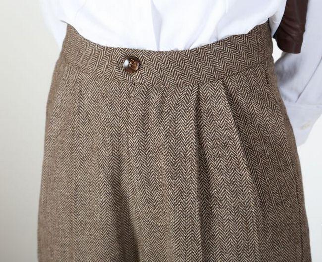 Las De caqui Nueve Pantalones Gris Mujeres Lana Primavera 2019 Suelto Otoño Traje Lápiz Y CwqURBX