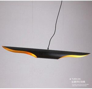 Image 4 - Nordic Eenvoudige Stijlvolle Restaurant Bamboe Pedant Lamp Persoonlijkheid Creatieve Koffie Bar Aluminium Buis Vliegtuigen Hanglamp E27