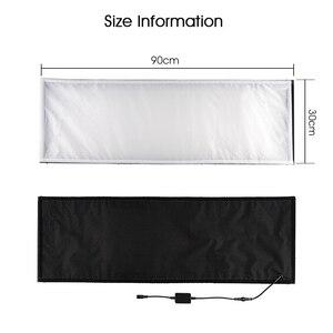 Image 3 - SAMTIAN FL 3090A Flexible LED Video Light Photo Studio Photography Light Dimmable 3200K 5500K For Photography Photo Shoot