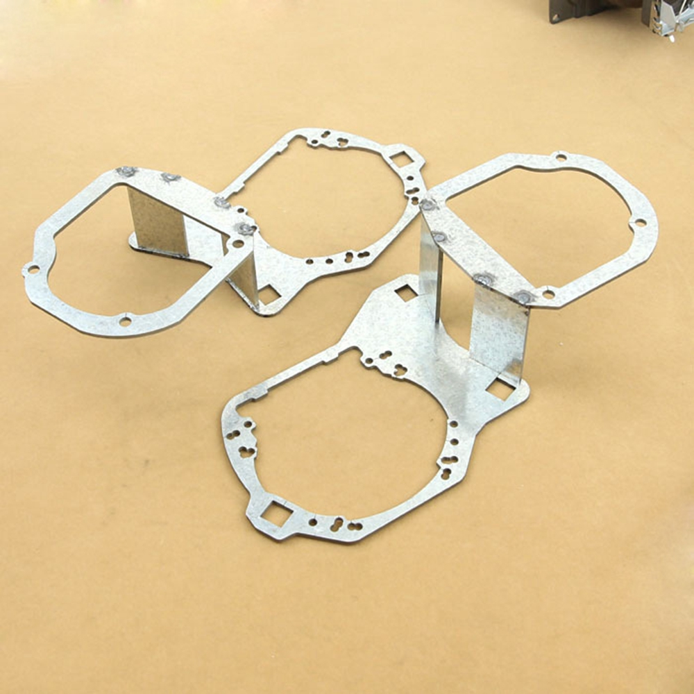 Voiture-Style cadre adaptateur module DIY Support Support pour Buick encore Faible faisceau Hella 3 5 Q5 objectif Du Projecteur Spot light