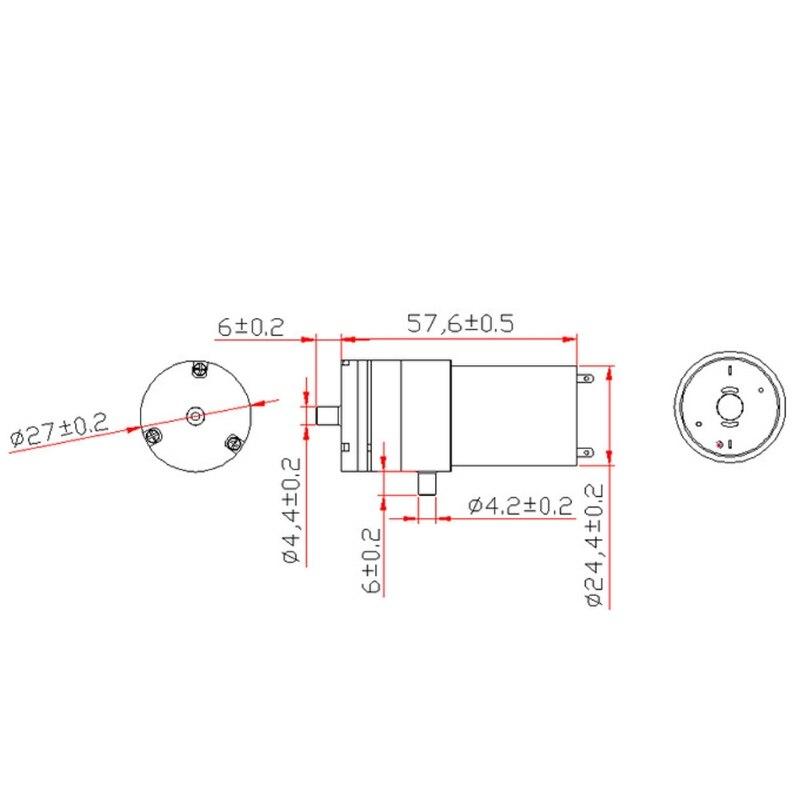2x Dc 3v-6v 5v 370 Motor Micro Mini Air Pump Vacuum For Aquarium Tank Oxygen Back To Search Resultshome Improvement