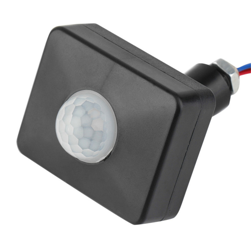 Image 5 - High Quality Automatic 10MM 12MM AC 85 265V Security PIR Infrared Motion Sensor Detector Wall LED Light Outdoor 160 Degrees-in Sensor & Detector from Security & Protection