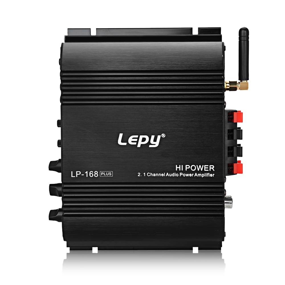 Lepy LP 2.1 Channel Car Amplifier 3.55MM Audio Wired 168 Plus Super Bass HiFi  Stereo Bass Output PowerLepy LP 2.1 Channel Car Amplifier 3.55MM Audio Wired 168 Plus Super Bass HiFi  Stereo Bass Output Power