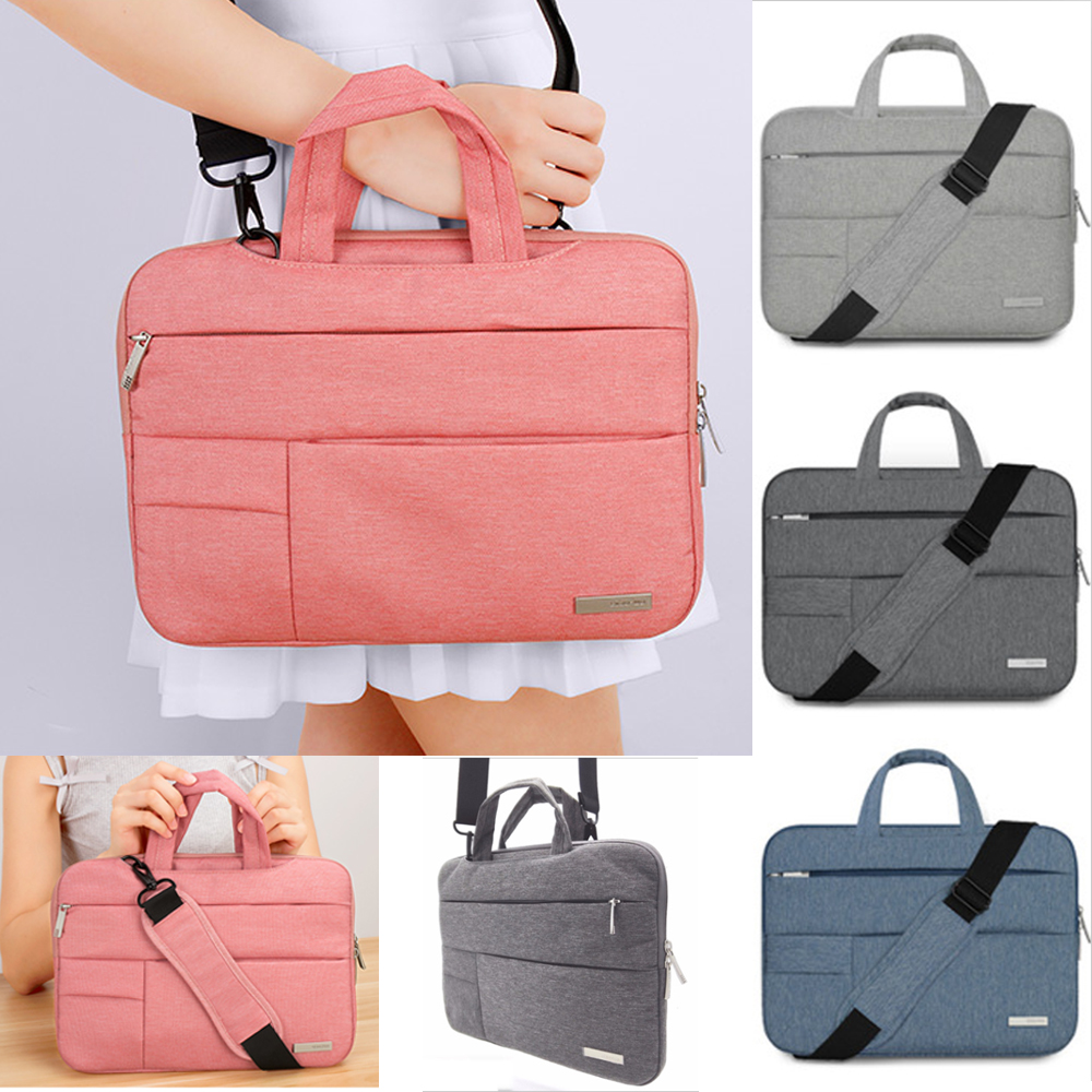 Image 1 - Laptop Case 11 12 13 14 15.6 inch for Toshiba Asus Dell Hp Lenovo Acer Notebook Shoulder Bag for Macbook Air Pro Messenger Bag-in Laptop Bags & Cases from Computer & Office