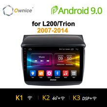 Ownice K1 K2 Android 9 0 Car Audio FOR MITSUBISHI L200 Trion 2007 2014 dvd gps