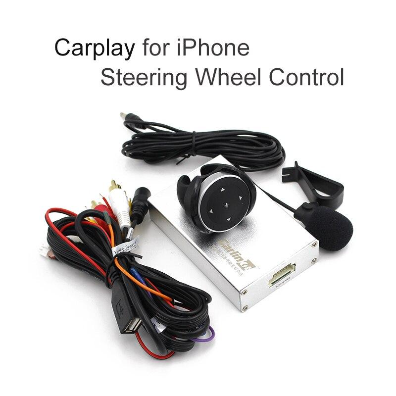 all 2din 1din car Carlinke carplay box steering wheel