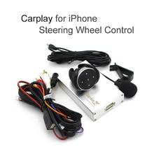 Todos 2din 1din coche carplay Carlinke caja volante manzana caja del Espejo de coche carplay android reproductor multimedia de navegación gps