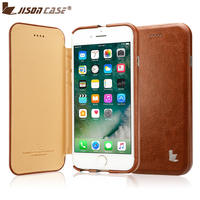 Jisoncase Luxury Magnetic Flip Cases For IPhone 7 7 Plus 2016 New Release Anti Knock With
