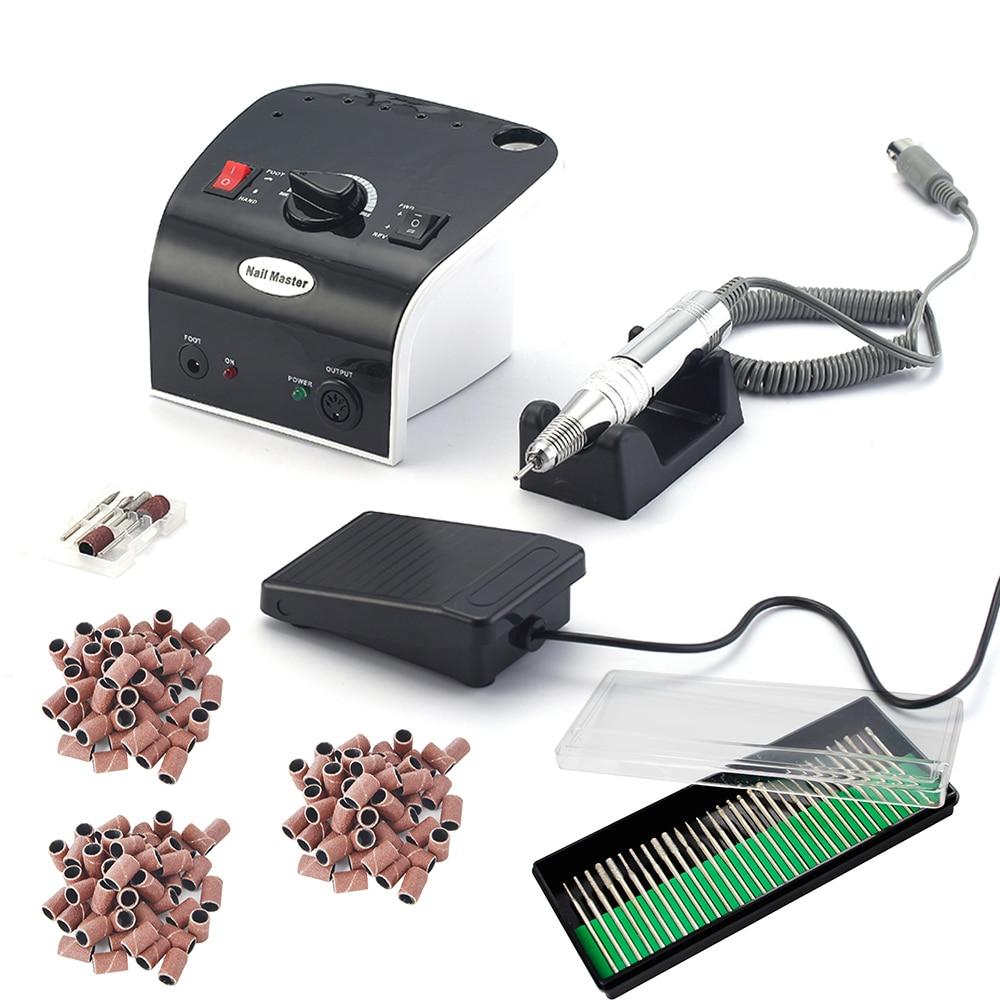 35W 35000 RPM Electric Manicure Machine Nail Drill File Kit electric nail file nail supplies
