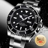 KINYUED Brand Men Mechanical Watch Automatic Role Date Fashione luxury Submariner Clock Male Reloj Hombre Relogio Masculino