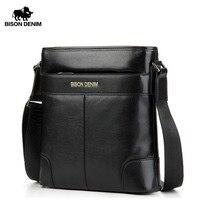 fe92deaba33 Bison Denim Frist Layer Cowhide Handbag Messenger Bag For Mens Business  Leisure Free Shipping