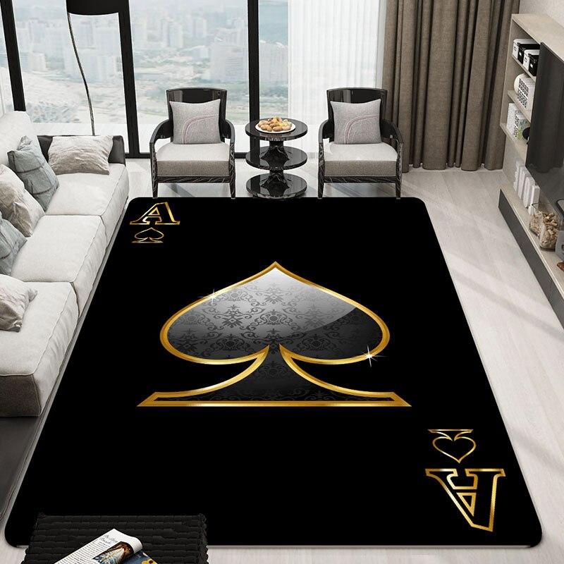 Poker Dorothy mode métrosexuelle personnalité créative tapis tapis et canapé marée marque boutique tapis dans le salon chambre tapis