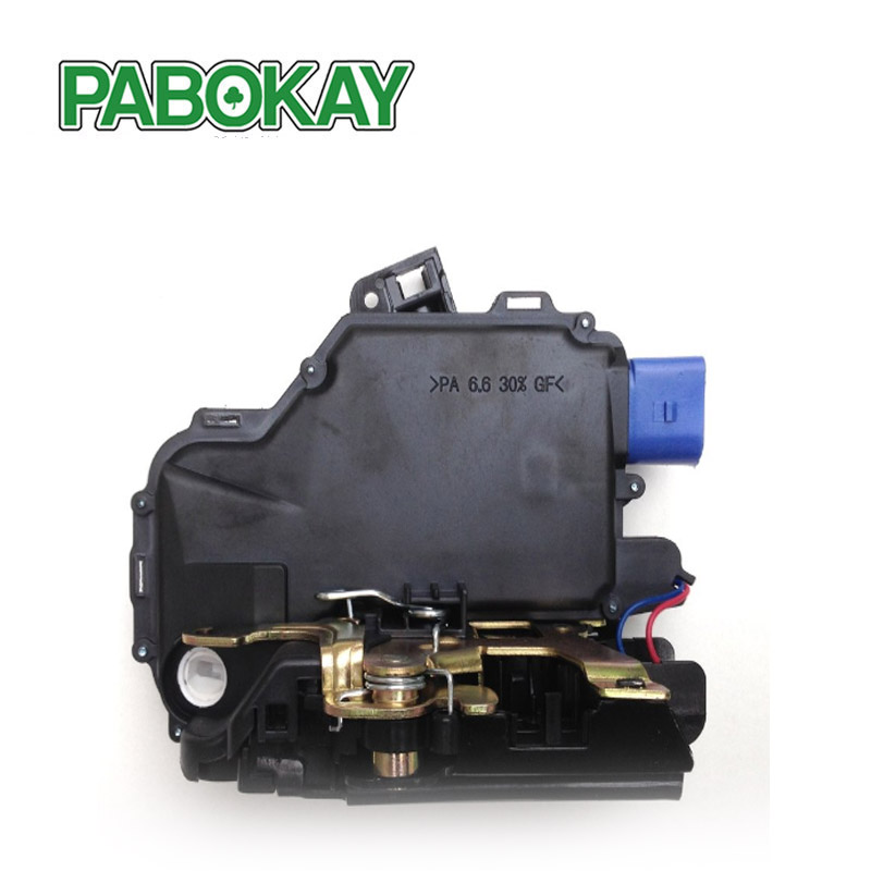Image 3 - FRONT RIGHT Door Lock Mechanism 3B1837016BC 3B1837016CC 3B1837016BN 3B1837016AN 3B1837016S FOR VW T5 POLO SKODA FABIA ROOMSTER-in Locks & Hardware from Automobiles & Motorcycles