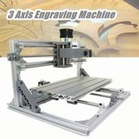 DIY Mini CNC Router Laser Machine 3 Axis 3018 ER11 GRBL Control Pcb Pvc Milling Wood