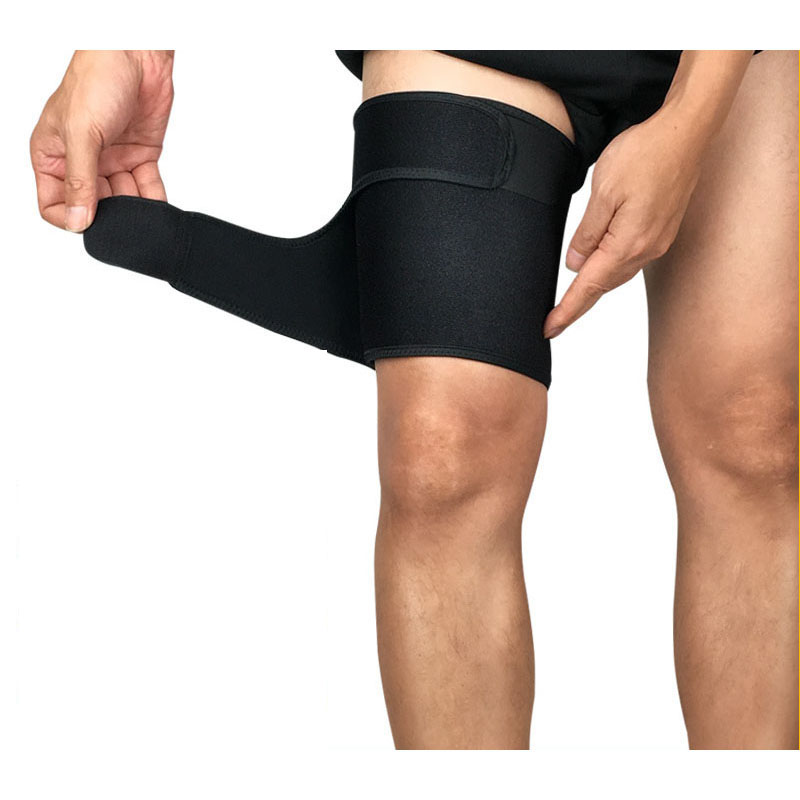 1PCS Outdoor Sports Leg Sleeve Support Brace Knee Pads Kneepad Basketball Sport Compression Calf Stretch Brace Thigh Protect