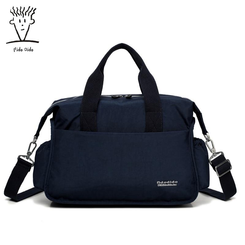 Fido Dido Brand Messenger Bag Men&Women Shoulder Bag Man Satchels Handbags Nylon Sling Bags designer Men Crossbody Bags!! fido