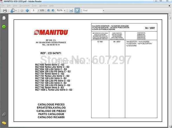 US $150 0 |Linde Forklift EPC+Bobcat EPC+JCB spp 1 18+ Manitou +Hyster  forklifts manual+Yanmar Excavator EPC on Aliexpress com | Alibaba Group