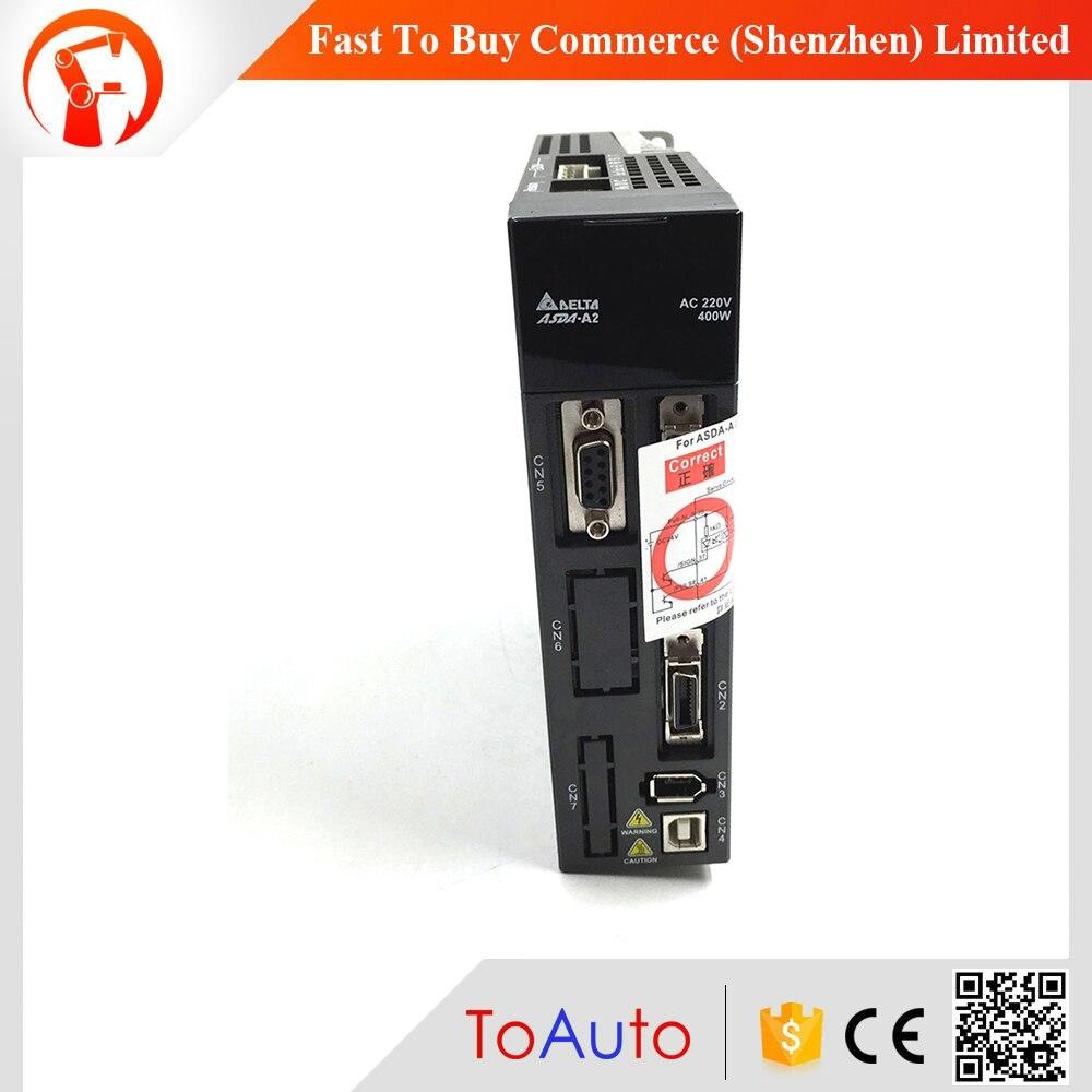 ASD-A2-0421-L Delta AC Servo Drive 1ph 220V 400W 2.6A with Full-Closed Control New цена