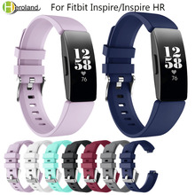 smart watchbands For Fitbit Inspire/Inspire HR Activity Tracker Band Silicone Sports Replacement Wristband Bracelet Accessories