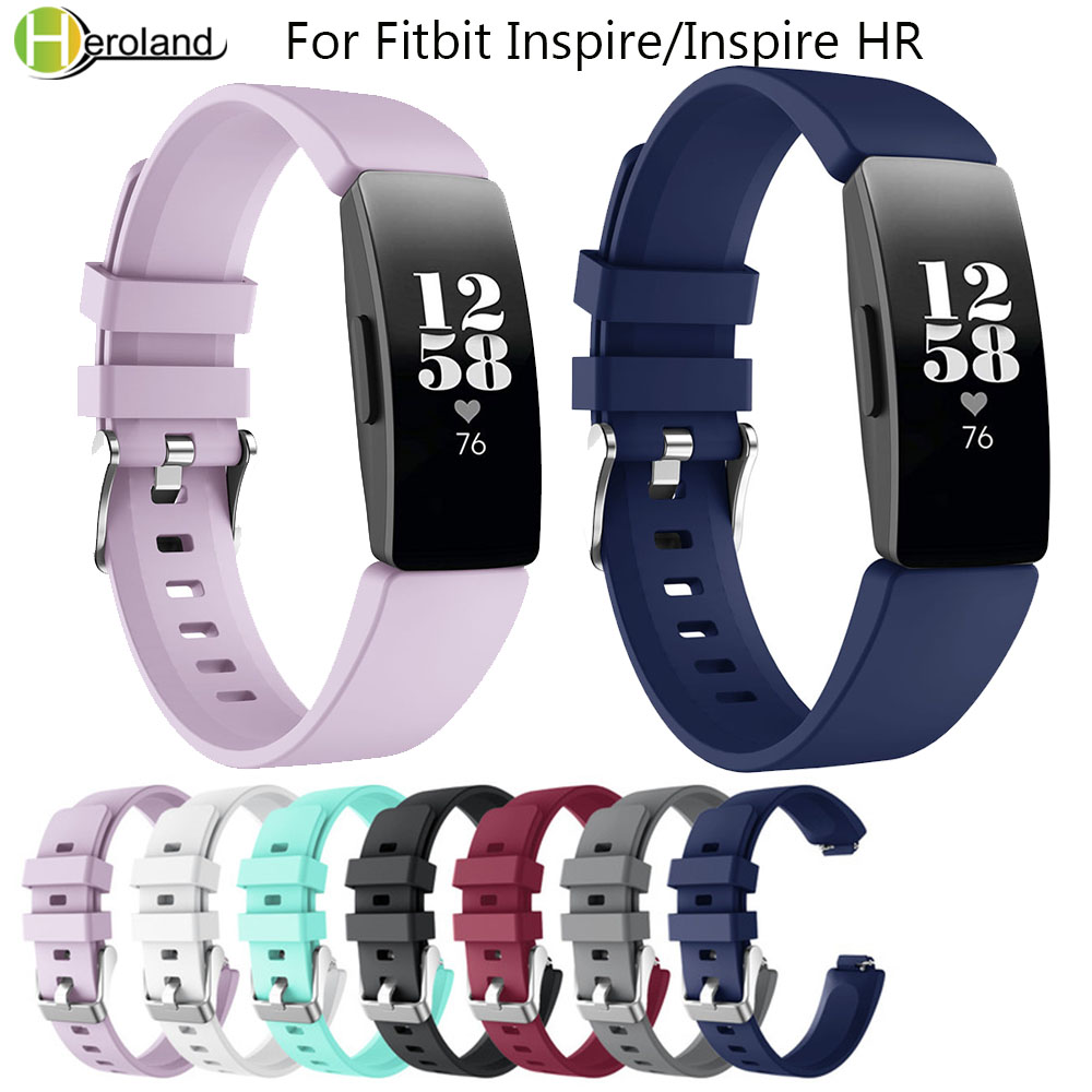 smart watchbands For Fitbit Inspire/Inspire HR Activity Tracker Band Silicone Sports Replacement Wristband Bracelet Accessories image