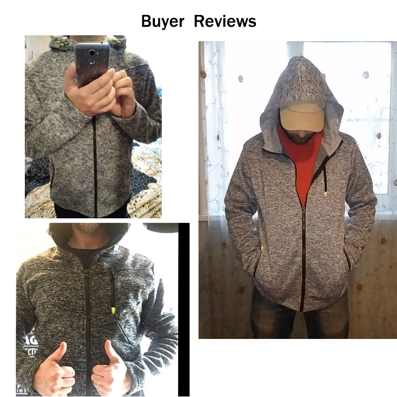 Men Sports Casual Wear Zipper Fashion Tide Jacquard Hoodies Fleece Jacket Fall Sweatshirts Autumn Winter Coat 4