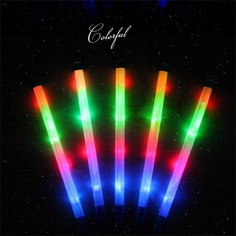 Hot Sale Free Shipping Colourful Led Stick Flashing Glow Sticks Wholesale Price in Event