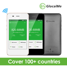 GlocalMe 4G LTE Global Pocket Wifi Wireless Router with 1GB Data No Sim Card Free Roaming Mifi New