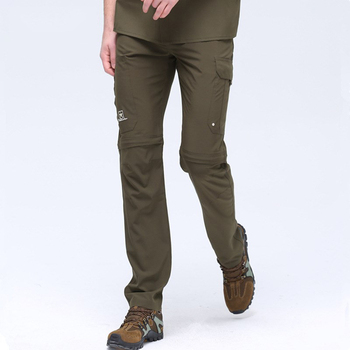 Outdoor Military Men Quick Dry Pants Restorable Long Pants Camping Hiking Climbing Multi-pocket Quickdry Army Tactical Trousers