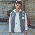 2017 Бейсбол Куртка Мужчины Хлопка Куртки Молодой Мужчина Пальто Мужчины новый Стиль Повседневная Мода Колледжа Бейсбол Весте Мужчины Марка Куртка 172