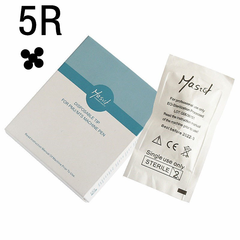 Mastor permanent makeup 5R C Disposable needle for Mastor Rotary PMU Machine Screw interface 15pcs lot