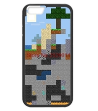 Unique Snap-on Hard Plastic Minecraft Pixel Cell Phone Case cover for iphone 4 4s 5 5s 5c 6 plus