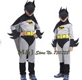 Free shipping!!Boys batman tight clothes children take Halloween festival decorations batman suit batman role playing
