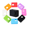 SJCAM Soft case SJ4000 SJ5000 Silicone Protective case housing cover for Sport Camera Accessories with Lens Cover hood