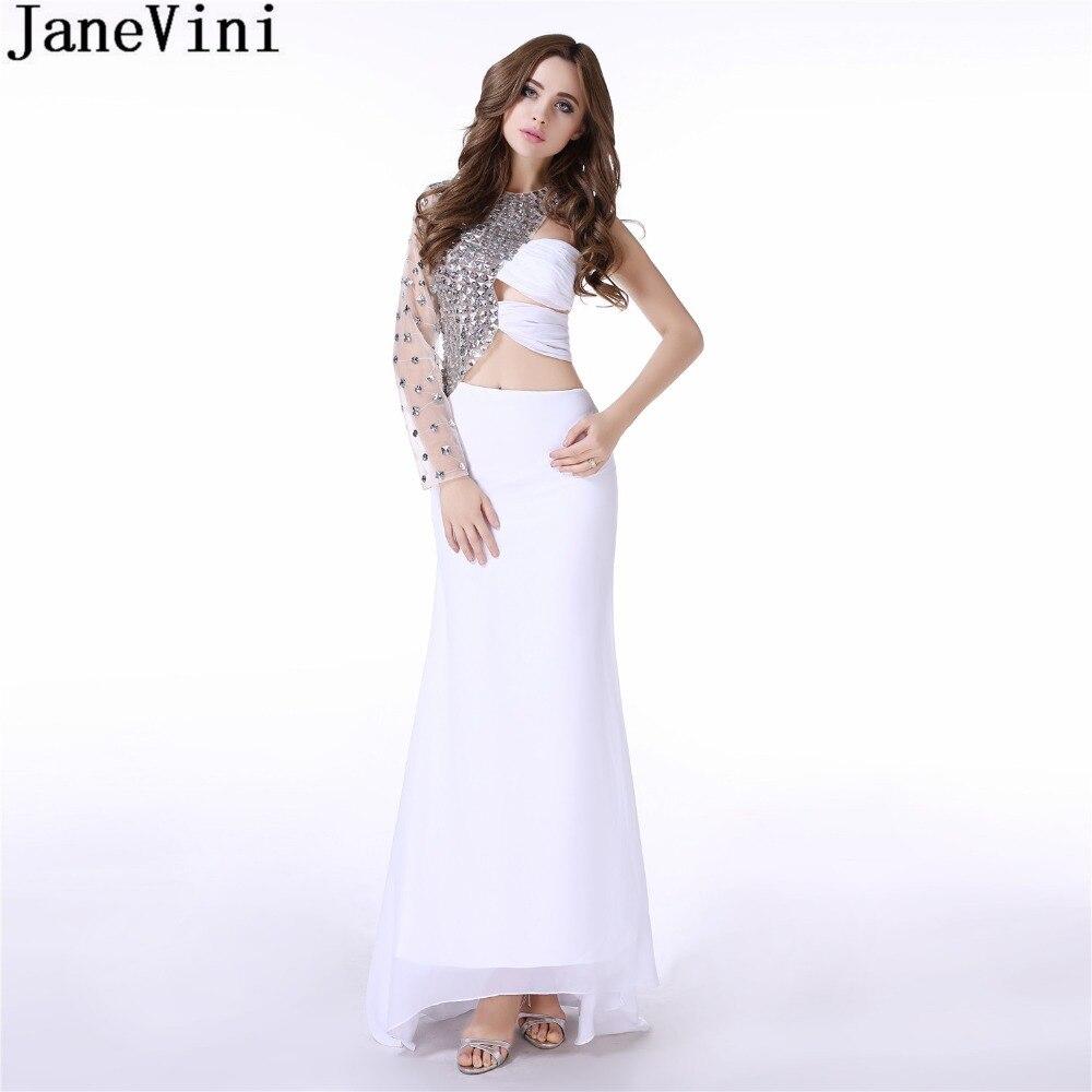 Crystal, Prom, Sleeve, Dresses, Dress, Long