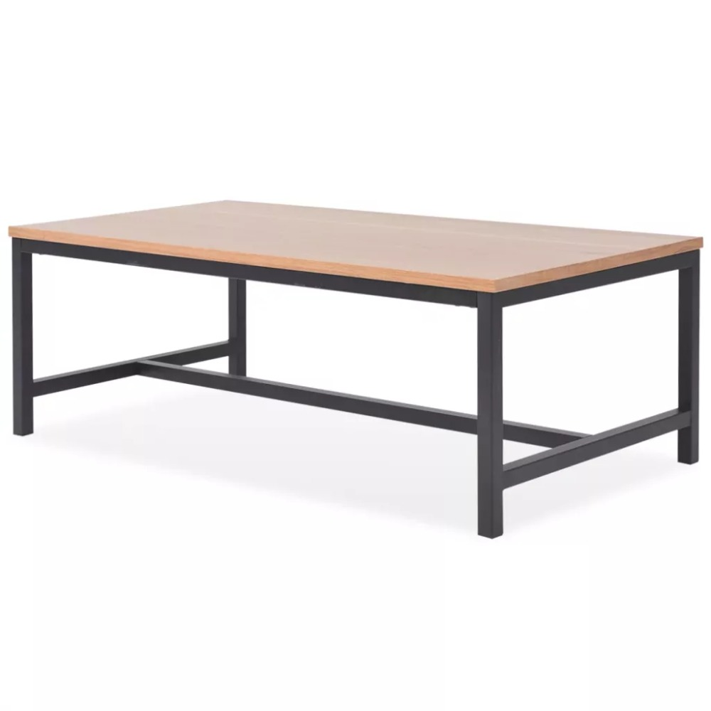 EHOMEBUY 2019 New Arrival Coffee Table Ash 100x55x36 Cm European Coffee Furniture Tea Table Rectangular Simple Style