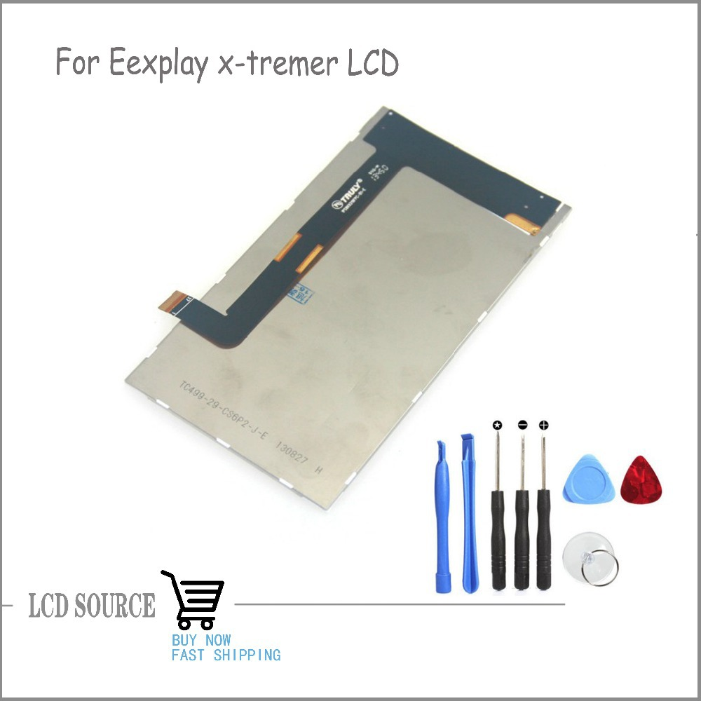 Original For 5 Explay x-tremer Smartphone LCD Display Screen Panel Replacement Parts With Tools explay для смартфона explay craft