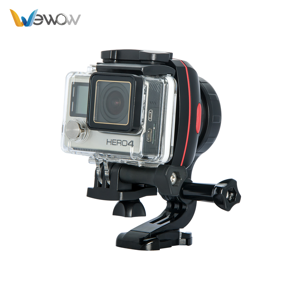 Cadiso X1 Wearable Gopro 1 axis Gimbal Stabilizer for Smartphone gopro 3 4 5 Gimbal steadicam mobile new 4 wheels mobile rolling sliding dolly stabilizer skater slider motorized push cart tractor for gopro 5 4 3 3 2 1 camera