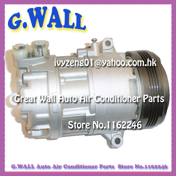 HIGH QUALITY CSV613 AC COMPRESSOR FOR CAR BMW Z4 L6 2.5L 3.0L 4PK 110MM 2002 2003 2004 2005