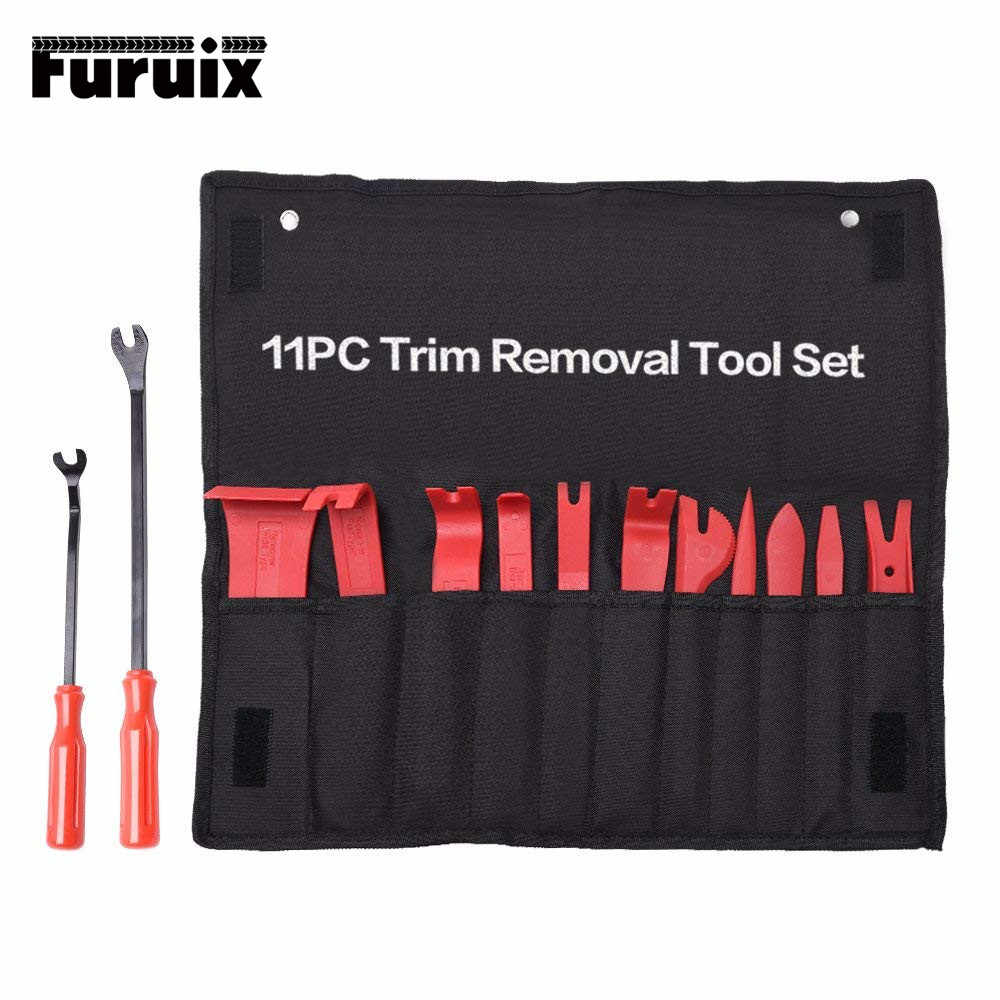 FURUIX Auto Trim Removal Tool Set Auto Auto Radio Audio Reparatur Kit Tür Dash Trim Hebeln Clip Stereo Panel Installer