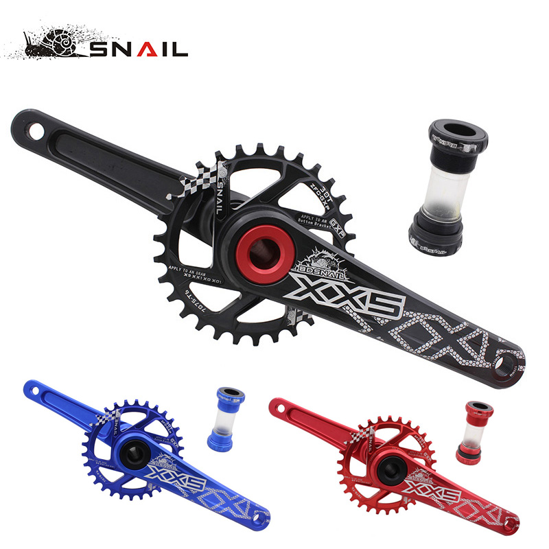 BDSNAIL Bike Bicycle Suit Sets Crankset crank Chainwheel 30T 32T 34T 7075 CNC Narrow Wide Chainring For GXP XX1 X9 XO X01 CNC AL prowheel chariot 53t folding bike road bike crankset 170 crank bicycle chainwheel 170l 170mm for sp8 8s 9s speed