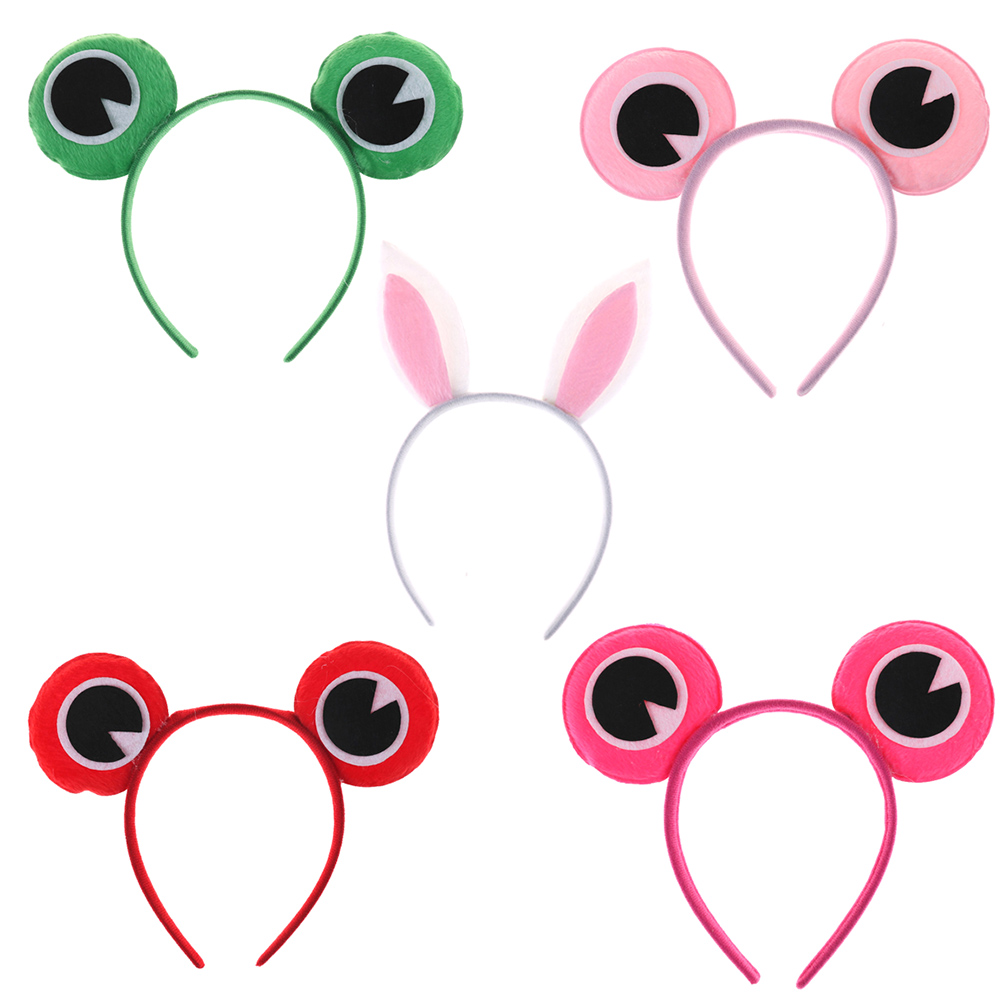Apparel Accessories Birthday Party Favors Supplies Animal Hair Band Tiger Monkey Dog Cat Frog Giraffe Headband Tie Tail Halloween Cosplay Newest